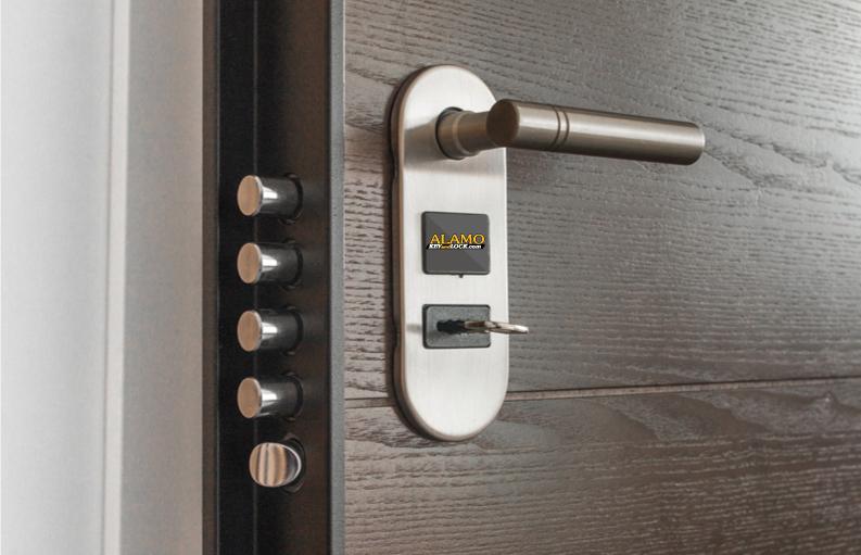 deadbolt installed by Alamo Key & Lock